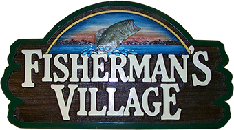 Fisherman's Village Resort; On beautiful Deer Lake, Minnesota